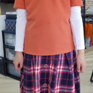 小4女児カットソー作品、半袖Tシャツ