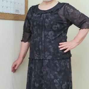 フラットカラーとスカートのセットアップ(カットソー生徒作品)