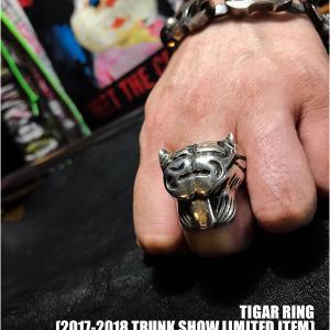 【ガボラトリー,ガボール/GABORATORY】タイガーリング!17-18トランクショー限定!