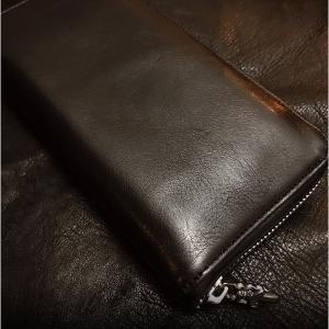 クロムハーツ 財布/ REC F ZIP #2 プレーン ブラックヘビーレザー 在庫あり!