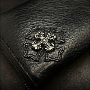クロムハーツ財布 / REC F ZIP#2 フィリグリープラス ブラック ヘビー!在庫あり!