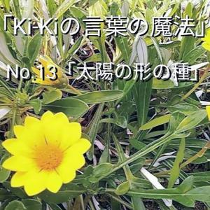 「Ki-Kiの言葉の魔法」No.13.「 太陽の形の種 」