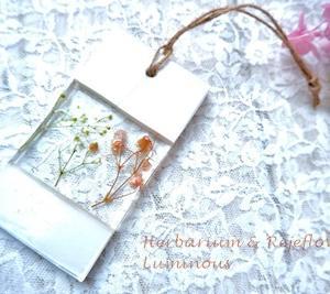 【生徒さま作品】石膏+レジン+アロマの贅沢なボタニカルクラフト
