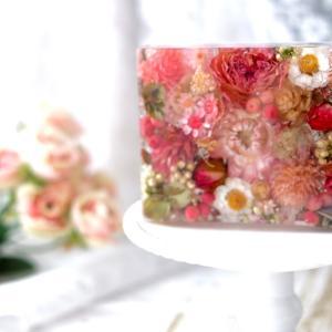 みっちり詰まったお花が可愛い♡念願のはな箱