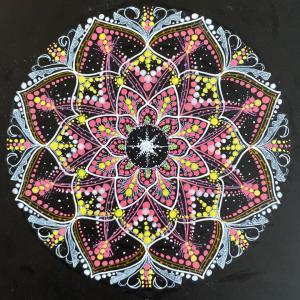 【受講報告】充実の日曜日 点描曼荼羅アート講座step2