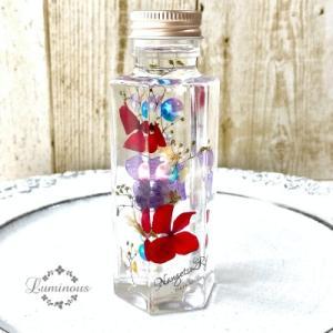 【受講報告】ボトルの中にお花が浮いてるハーバリウム