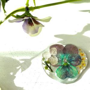 【受講報告】お花が氷の中に閉じ込められたような…