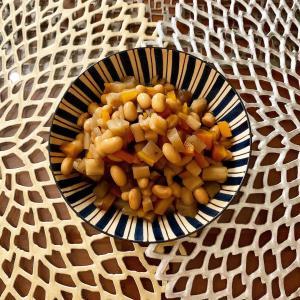 大豆と根菜の煮物編‼️