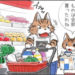 猫マンガ「ふたりでお使い」
