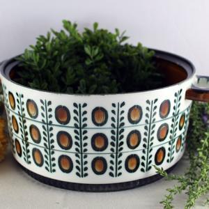 【ベルギー製BOCH】NOIXの陶器鍋