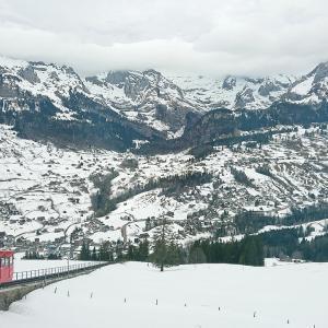 絶景のスイスの雪山を楽しんだ1週間