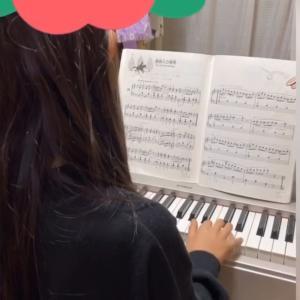 ピアノの曲「貴婦人の乗馬」に挑戦中