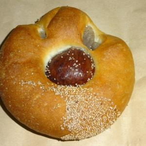 この味に、くまもと愛が加速する。 【ブーランジェリーパ・パン】の熊本県産栗あんぱん