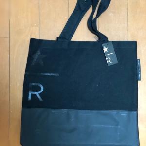 このスタバのバッグの方が良かったかな。