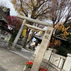 伊勢崎神社へ行って参りました
