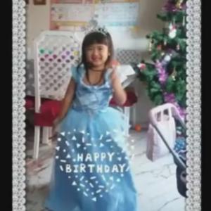 孫姫Miiya 5歳のお誕生会スペイン流!