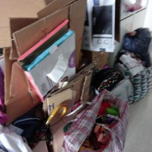 娘の新居 荷物整理真っ最中!それにしても量がはんぱない!
