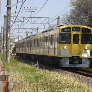 西武多摩湖線の4ドア運用、2543Fが投入される