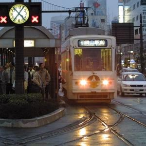 2019年8月の岡山・広島・鳥取・兵庫旅行 8 岡山電気軌道 車両編 その1 7900形 8501