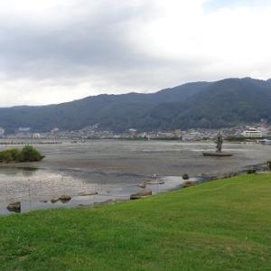 2018年晩夏 長野県内の保存蒸機を見て歩く旅 4 諏訪市湖畔公園に保存されているD51 824号機