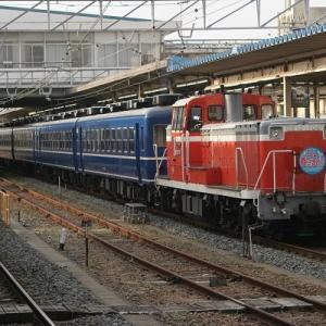 2021年春、外房線~内房線を巡る旅 その6 蘇我駅で撮影した蒸気機関車牽引列車