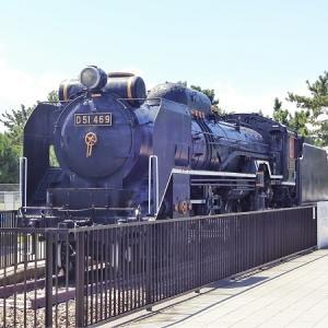 公園保存蒸機 D51 469号機 浜寺公園交通遊園