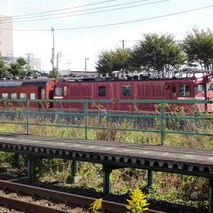 公園保存車両 ED71 37+オハフ61 2527