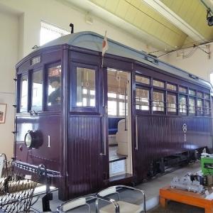 仙台市電保存館を訪問 その2 展示車両 1号車(モハ1型)