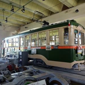 仙台市電保存館を訪問 その2 展示車両 モハ80型改めモハ100型