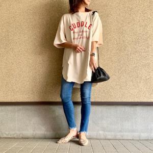【GU】部屋着にするにもったいないGUのTシャツ♡/楽天SS購入品