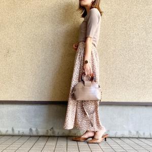 【GU】秋にもピッタリ♥迷わず2色買いしたGUスカート♡