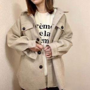 今年の冬.一番着ているトレンドのCPOジャケット♡