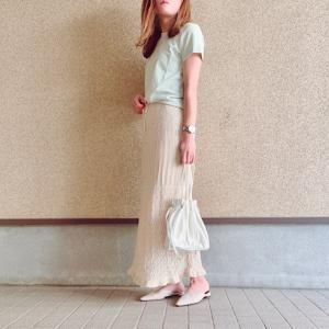 【GU】昨年即完売したGUの大人気お洒落スカート♡