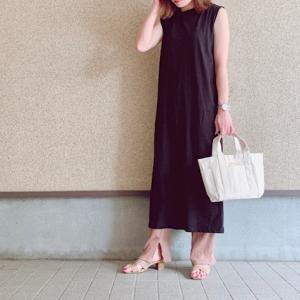 【GU】躊躇なく2色買いしたGU790円ワンピース♡