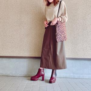 【GU】この秋冬マストなGUの高見えスカート♡