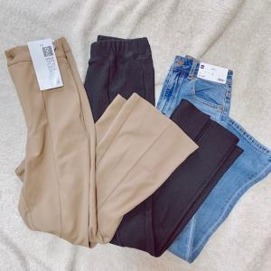 【GU】GUでまとめ買いした美脚パンツ♡