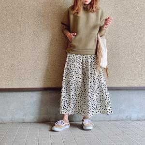 【しまむら】4年愛用しているしまむらスカート♡