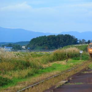 メロスを追っかけて「大沢内駅」