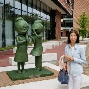 サザエさんの長谷川町子美術館新館へ、GO!