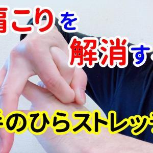 肩こりを解消する「手のひらストレッチ」|よしの整骨院《大阪府和泉市》【腰痛/頭痛/交通事故治療/整体/整形外科】