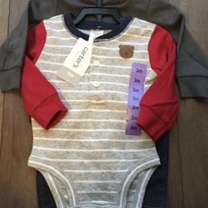 【2ヶ月】コストコのベビー服