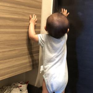 【1歳】家から閉め出された夫