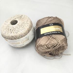 色々な毛糸に挑戦中!③