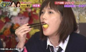 【悲報】本田翼『ゴチ!』で食レポ披露も「食べ方汚い」「料理ぐちゃぐちゃ」