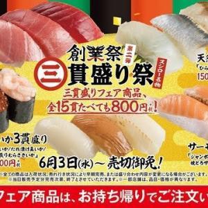 【朗報】スシローさん15貫で800円とかいう神キャンペーンが始まるwwwwwwwww