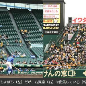 【画像】コロナ禍の甲子園球場の様子がこちらwwwwwwwwww