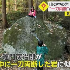 【画像】鬼滅の刃さん、ただの岩まで人気者にしてしまうwwwwwwwwww