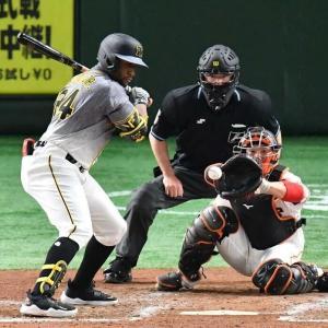 ロハス(阪神) .000(19-0) 0本 1打点OPS.050