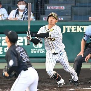 【阪神】島田 攻走守で躍動、ウエスタン首位打が者猛アピ 矢野監督「楽しみ出てきた」