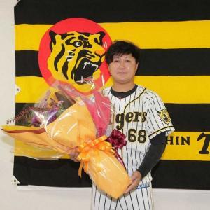 阪神・俊介 チーム最年少・高寺とのキャッチボールに見えた心遣い